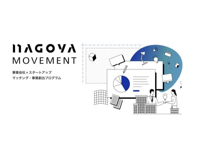 スタートアップ企業の成長を促し、共創を促進するプログラム「NAGOYA Movement」担当者インタビュー